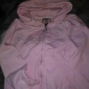 """NWOT Light Pink """"San Francisco CA"""" Hoodie"""